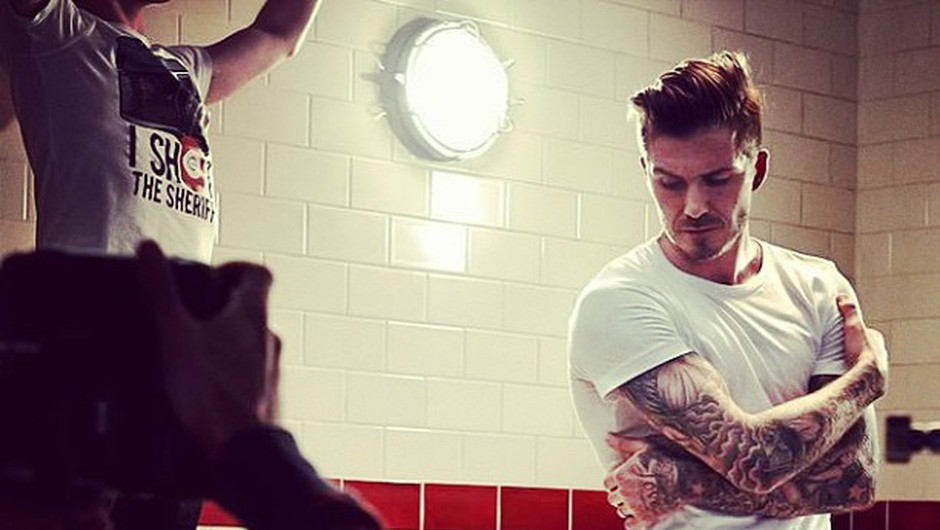 David Beckham predstavlja novo kolekcijo (foto: Instagram)