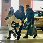 Starleta Kim Kardashian in raper Kanye West (foto: Profimedia)