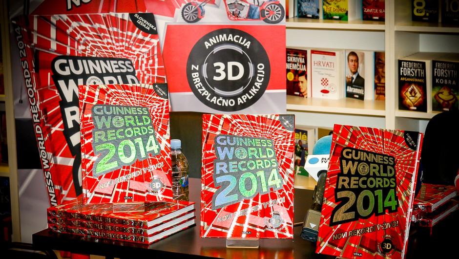 Tako kot drugod po svetu je tudi slovenska knjiga rekordov izšla 12. septembra, torej danes!