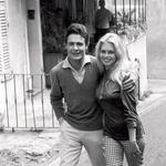 Z igralcem Jacquesom Charrierjem se je poročila 18. junija 1959, ločitev je prišla na vrsto tri leta pozneje.  (foto: Profimedia)