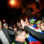 Foto ob sprejemu slovenskih košarkašev na Kongresnem (foto: Aleš Pavletič)