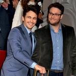 James Franco in Seth Rogen  Seth Rogen ima prijatelja Jamesa tako rad, da je prizorišče svojega novega filma postavil kar v njegov dom. (foto: profimedia)