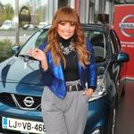 Nova Nissan Micra zapeljala Nino Šušnjaro (foto: Promocija Nissan Slovenija)