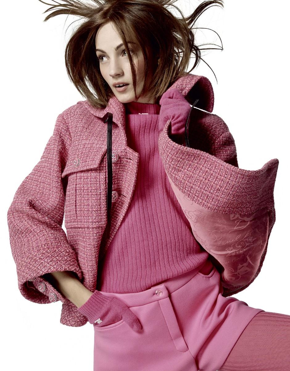Modni svet v rožnati (foto: Gorka Postigo)