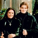 David in Victoria sta se spoznala leta 1997, leto dni pozneje sta se zaročila, leta 1999 pa sta zaplavala v zakonske vode. (foto: Profimedia)