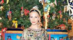 Božično trendi Poppy Delevingne