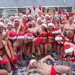 Foto utrinki z božičkovih tekov po svetu (foto: profimedia)