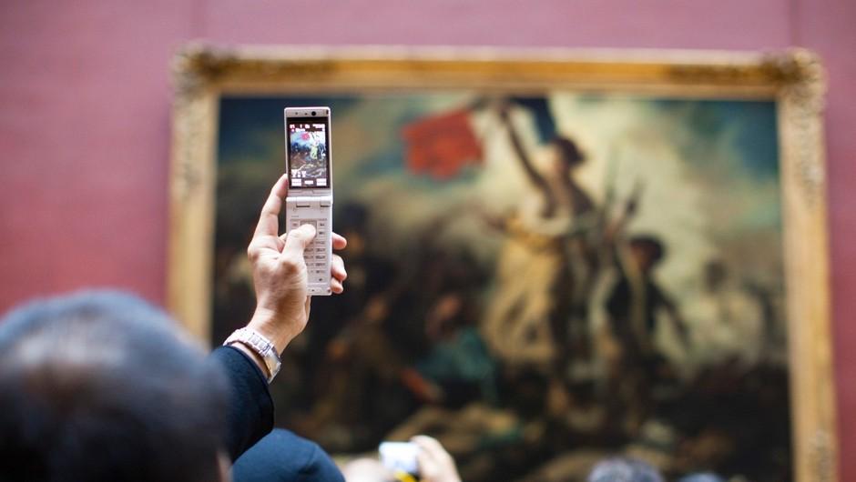 Pariški Louvre letno obišče šest milijonov ljudi (foto: profimedia)