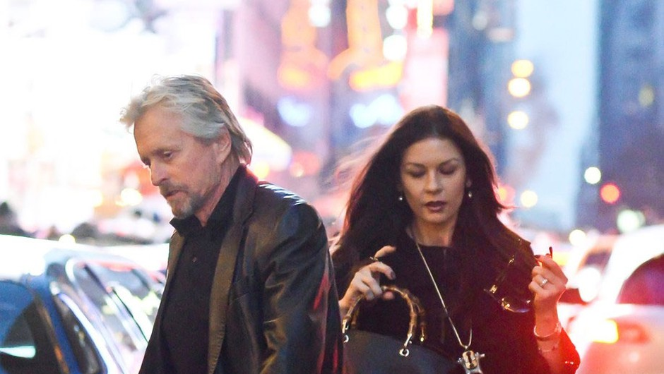Michael Douglas in Catherine Zeta-Jones (foto: Profimedia)