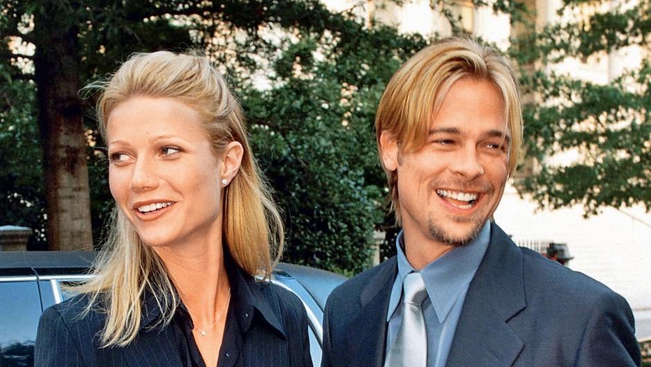 Gwyneth Paltrow se je  leta 1997 ustrašila, da  je premlada za zakonsko  življenje, zato je  odpovedala poroko z  Bradom Pittom. (foto: Profimedia)