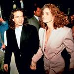 Na dan, ko bi se morala poročiti s Kieferjem Sutherlandom, je z igralcem Jasonom Patricom, Kieferjevim najboljšim prijateljem, zbežala na Irsko. (foto: Profimedia)
