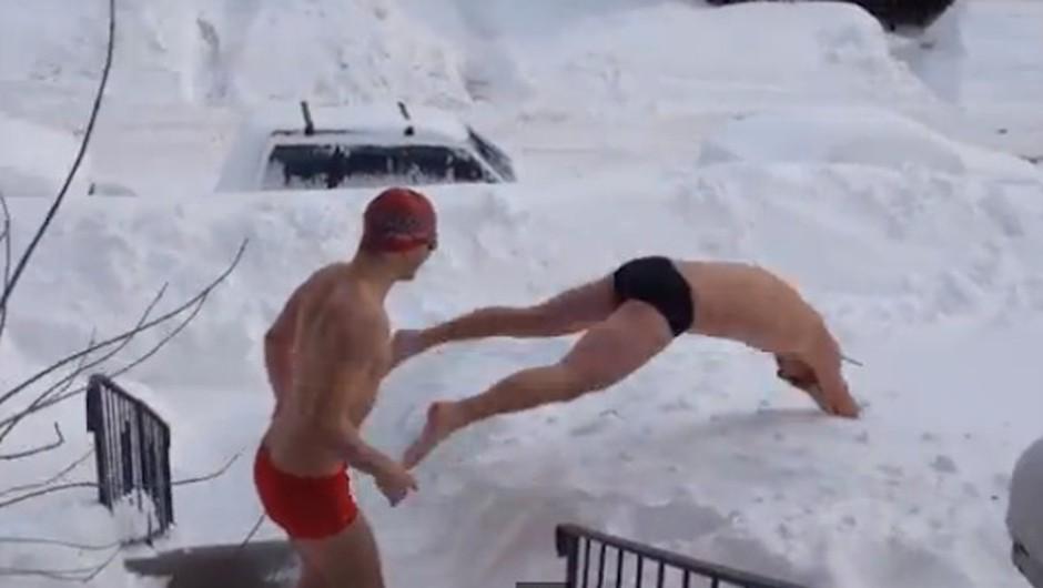 Ko se meja razsodnosti spusti na zunanjo temperaturo ... (foto: YouTube)