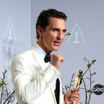 Matthew McConaughey z oskarjem za najboljšega igralca (foto: profimedia)