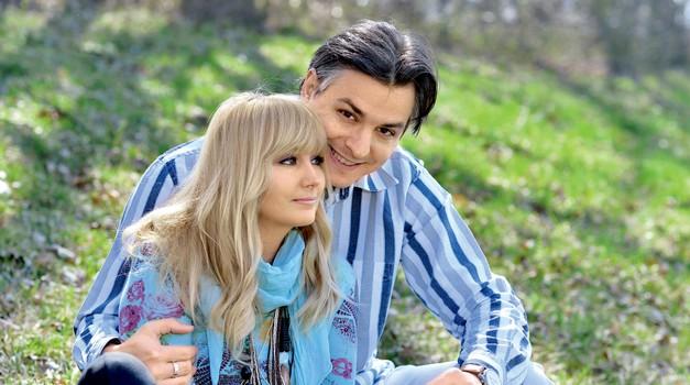 Saša Lendero in Miha Hercog - ljubezen je prišla, ko je nista pričakovala (foto: Predalič)