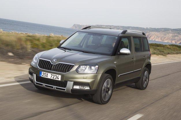 Avantura za najbolj pogumne: izziv Škoda Yeti 4x4