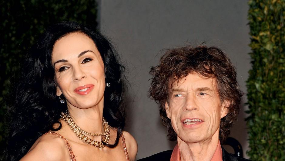 L'Wren Scott in Mick Jagger (foto: Profimedia)