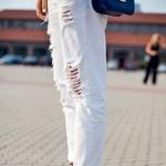 Bel džins je novi zapeljivec med 'must have' kosi. (foto: Profimedia, Primož Predalič)