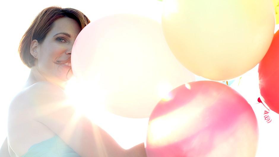 Slika z baloni.