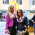 Dogodka stas e udeležili tudi vrhunska plesalka Nadiya Bychkova in fotografinja Ana Gregorič. (foto: Peter Klinc)