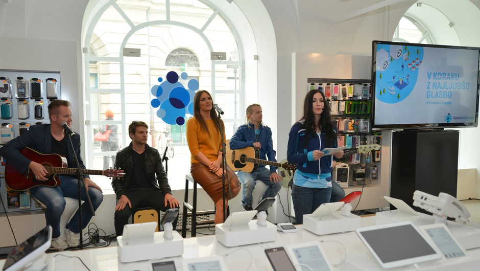 Telekom Slovenije je predstavil glasbeno storitev Deezer (foto: Deezer)