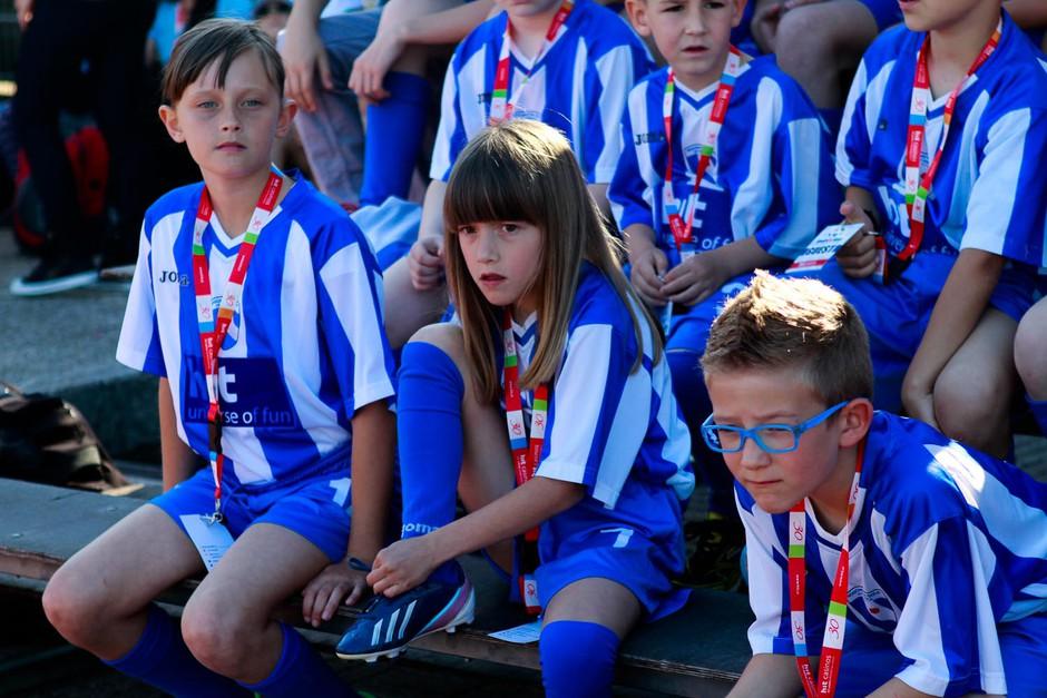 Fotogalerija z dobrodelnega nogometnega turnirja Goal for kids (foto: Goran Antley)