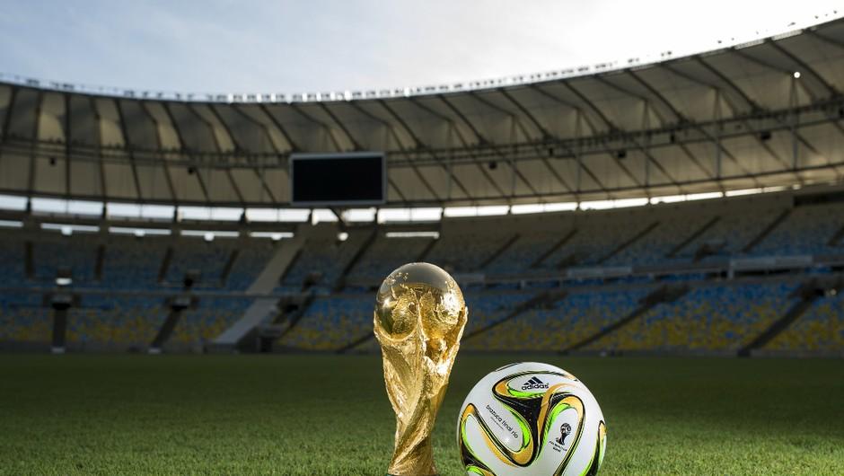 Uradna žoga svetovnega nogometnega prvenstva - Brazuca Final Rio (foto: Adidas)