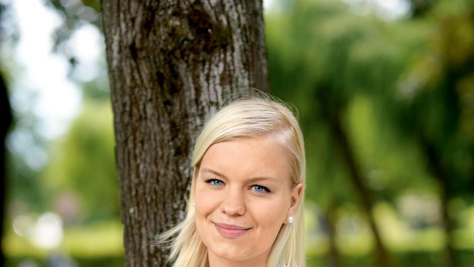 Maja Kovač, urednica družbenih medijev (foto: Primož Predalič)