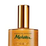 Bleščeč odsev: Olje za telo z bleščicami, Melvita L'Or Bio Sparkling Oil, 100 ml (39,70 €) (foto: promocijsko gradivo, primož predalič, Peter Pedonomou)