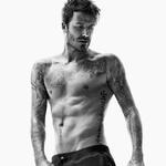 David Beckham - zgoraj brez za znano blagovno znamko (foto: profimedia)