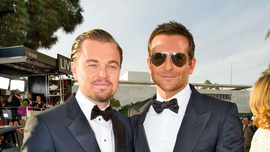 Bradley Cooper in Leonardo DiCaprio (foto: Profimedia)
