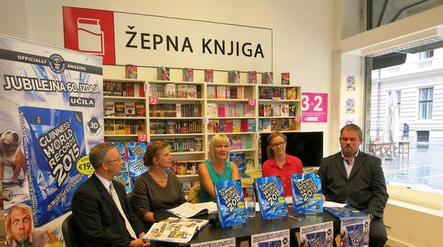 Slovenski Guinnessovi rekorderji se predstavijo (foto: felix)
