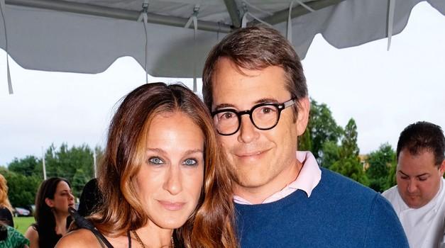 Sarah Jessica Parker in Matthew Broderick sta poročena že dobrih 17 let.  (foto: Profimedia)