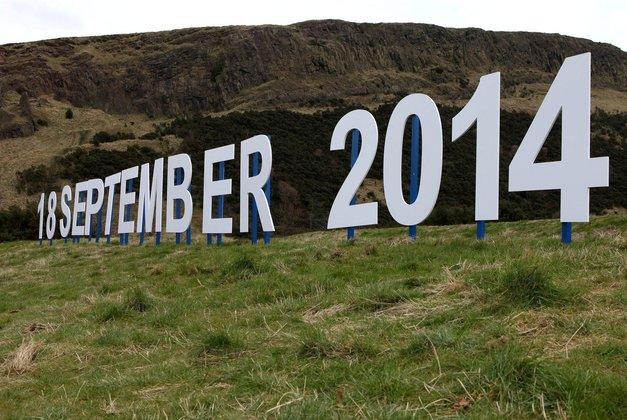 Vsi obrazi kampanje ZA in PROTI neodvisnosti Škotske (foto: profimedia)