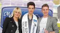 Mister Slovenije na pol poti v Seul