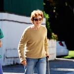 Z mamo Nancy Dow je bila nekaj časa sprta, ker je ta v javnosti razkrila intimne podrobnosti iz njenega zasebnega življenja.  (foto: Profimedia, Getty Images)