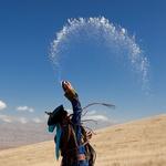 Šaman v Mongoliji med obredom (foto: profimedia)