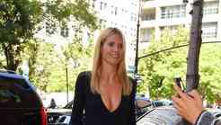 Heidi Klum v franžah in franžicah