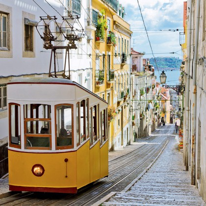 Potep po ulicah Lizbone