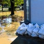 Fotogalerija poplavljenega Viča v Ljubljani (foto: Goran Antley)