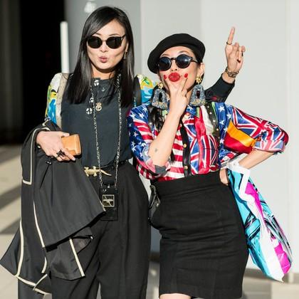 Na ulicah Tokia za časa Fashion Weeka