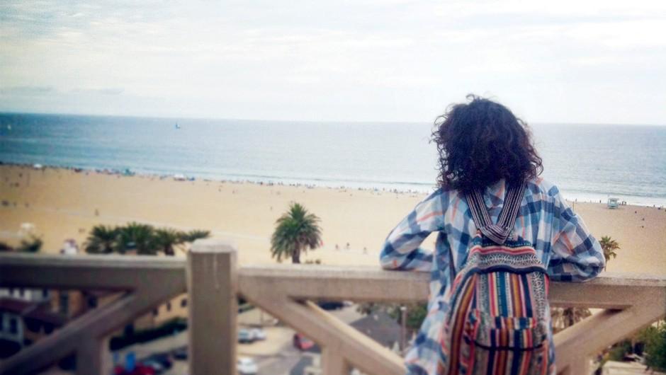 Malo dekle v velikem Los Angelesu (foto: osebni arhiv)