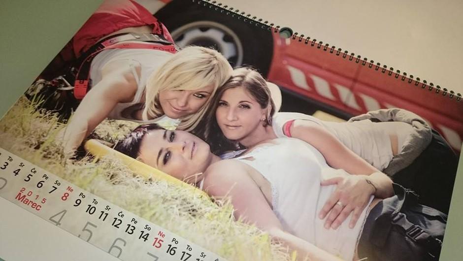 Nov, seksi in vroč humanitarni gasilski koledar 2015 že v prodaji! (foto: PGD Bistrica ob Dravi)