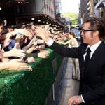 Angelino je spremljal tudi soprog Brad Pitt (foto: Karantanija Cinemas)