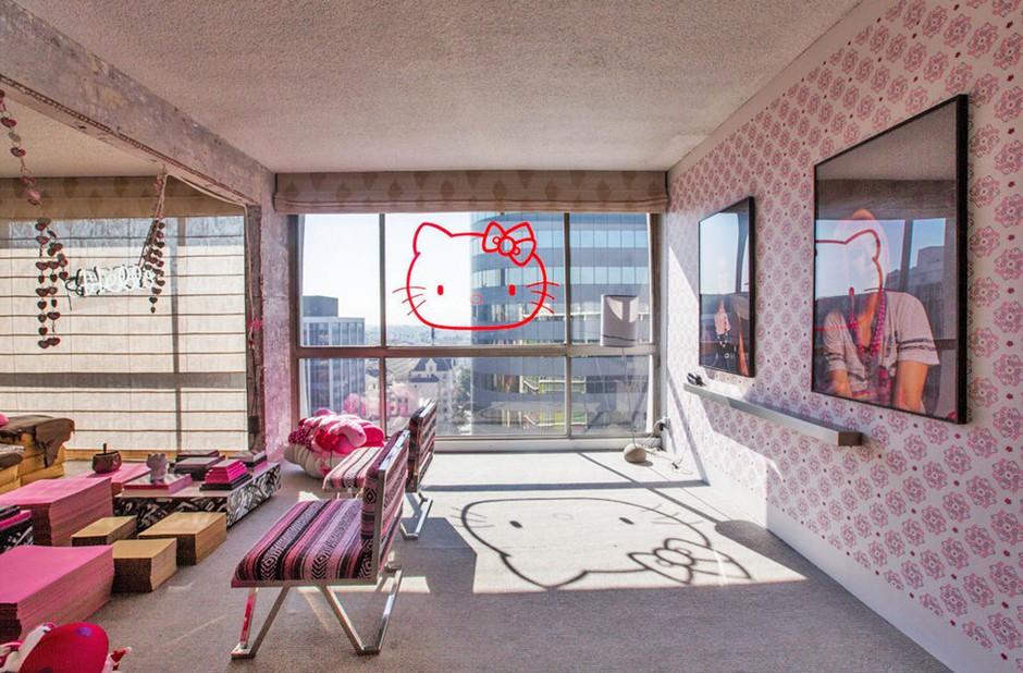 Odštekan kalifornijski hotel za Hello Kitty navdušence (foto: profimedia)