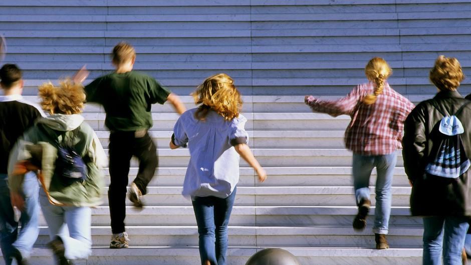 Si upaš? Tek po stopnicah najvišjo stavbo v Sloveniji! (foto: profimedia)