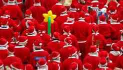 Dobrodelni nočni tek Božičkov za Rdeče noske