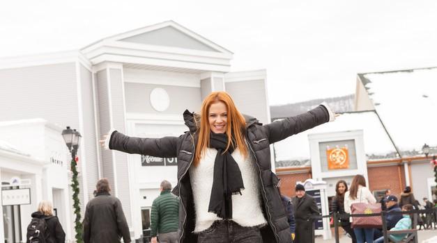 Nina Pušlar se je iz New Yorka vrnila polna novih vtisov (foto: dm drogeriemarkt)