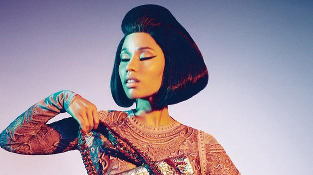 Nicki Minaj kot prefinjena dama blesti v kampanji Roberta Cavallija (foto: Profimedia)