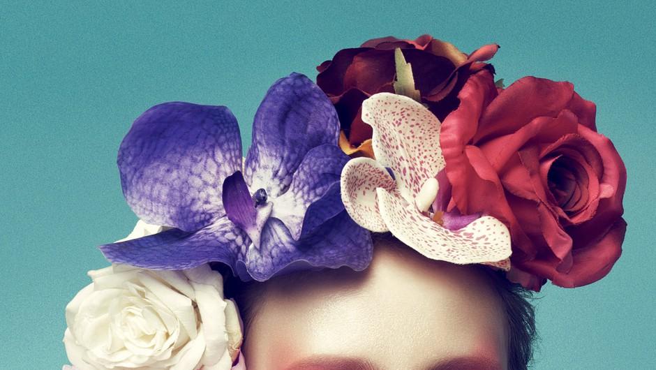 Makeup v stilu razkošne orhideje (foto: Carlos Teixeira, promo)
