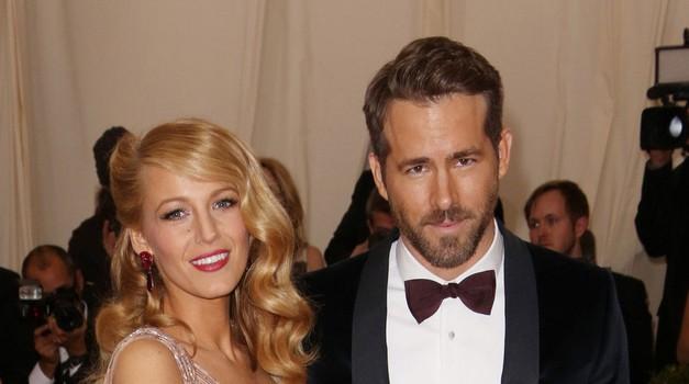 Blake Lively in Ryan Reynolds sta postala starša (foto: Profimedia)